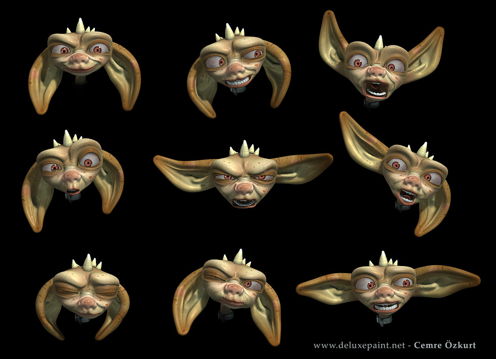 Elf's faces