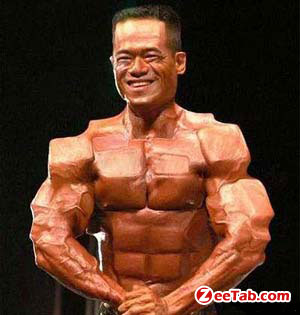 Brick Muscle Man