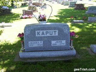 You Named It What ? Kaput ?