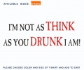 Think As Jou Drunk