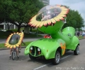 Sunflower Car