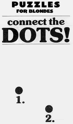 Find The Dots, Blonde