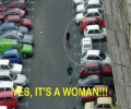 Woman Parking