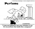 Parfume With Computer Smell