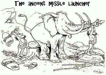 Ancient Missile Launcher