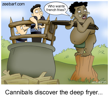 Cannibal Discover The Deep Fryer