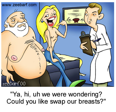 Swap Our Breasts