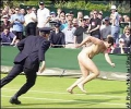 Naked Guy On Stadion