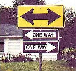 One Or Two Ways ???