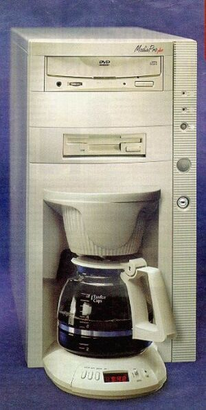 The New Hi Tech Coffee Maker