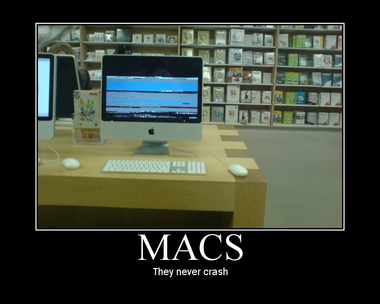 Macs Never Crash
