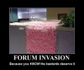 Normal Forum Invasion