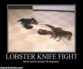 Lobster Knife Fight