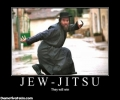 Jew Jitsu Demotivational