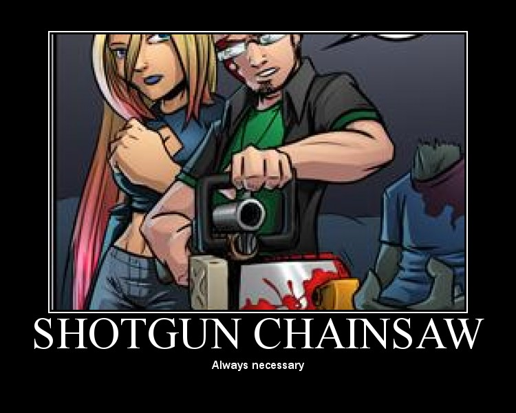 Shotgun Chainsaw