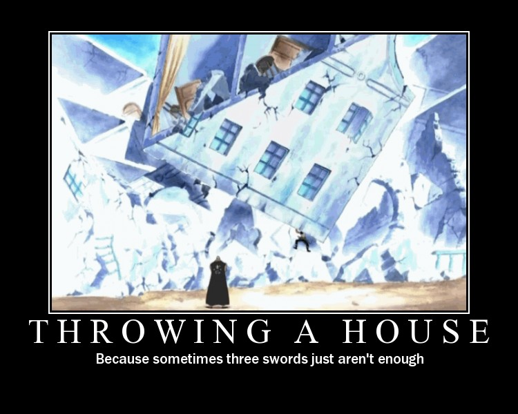 Throwing A House