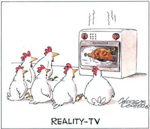 funny tv commercials. Chicken Reality Tv - Funny