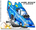 Funny Dragster Car