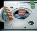 Kid In The Wash Machine